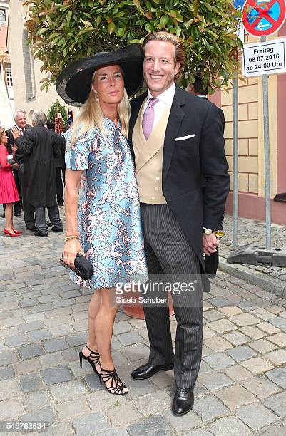 Prinz CarlEugen zu OettingenOettingen und OettingenWallerstein and his wife Prinzessin Anna zu OettingenOettingen und OettingenWallerstein during the...