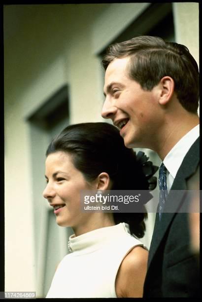 Prinz Hans-Adam und Marie von Liechtenstein, 1967