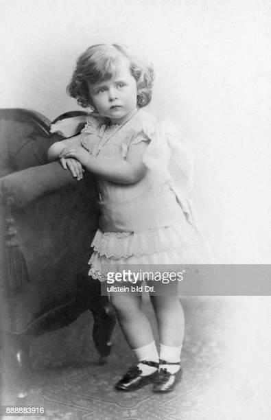Prinzessin Adelige Deutschland Zukünftige Ehefrau von Prinz Eitel Friedrich von Preußen auch bekannt als Prinzessin Eitel Friedrich Portrait als...
