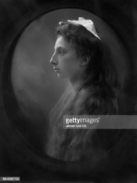 Prinzessin Bulgarien Portrait Originalaufnahme im Archiv von ullstein bild