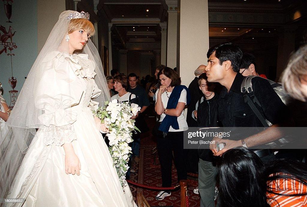 Prinzessin Diana, \'Madame Tussaud\'s\',;Wachsfiguren-Kabinett, Lon ...