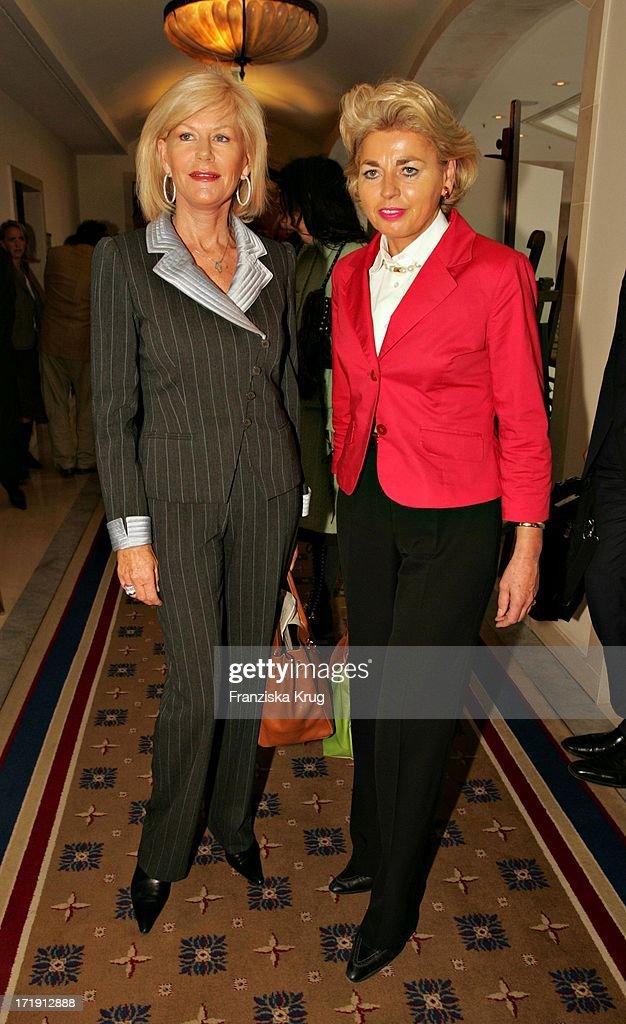 Prinzessin Elisabeth Zu Sachsen Weimar Und Gräfin Tini Rothkirch Beim Benefiz Brunch : News Photo