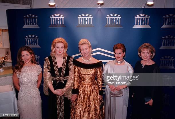 Prinzessin Haya von Jordanien SohaArafat Ute Henriette OhvovenGroßherzogin Maria Teresa von Luxemburg Name folgt InternationaleUnescoBenefizGala...