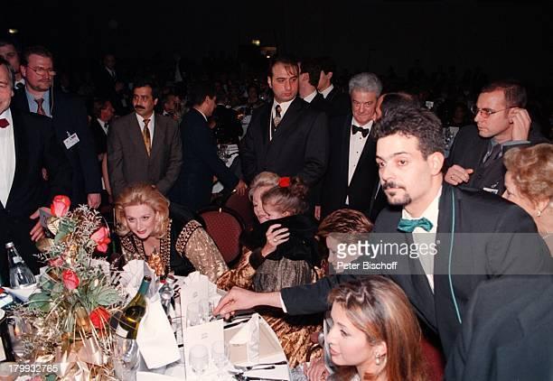 Prinzessin Haya von JordanienGroßherzogin Maria Teresa von LuxemburgUte Henriette Ohoven mit Tochter von SohaArafat InternationaleUnescoBenefizGala...