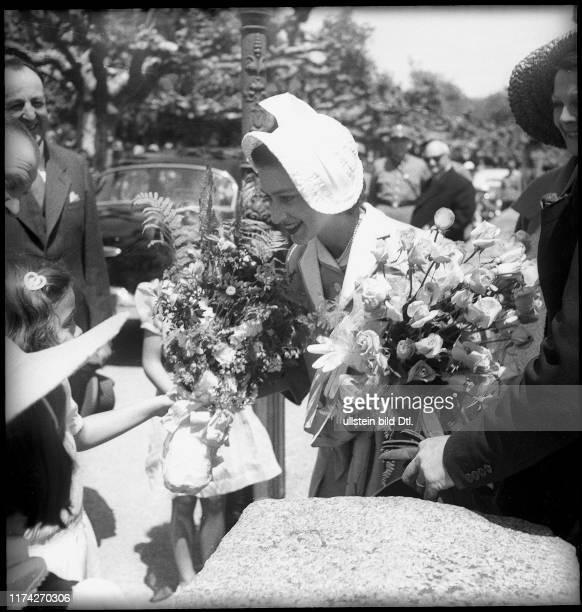 Prinzessin Margaret von England in Nyon 1949