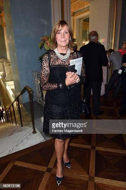 Prinzessin Ursula von Bayern attends 'Oper fuer Alle' with the premiere of Manon Lescaut at the Staatsoper on July 31 2015 in Munich Germany