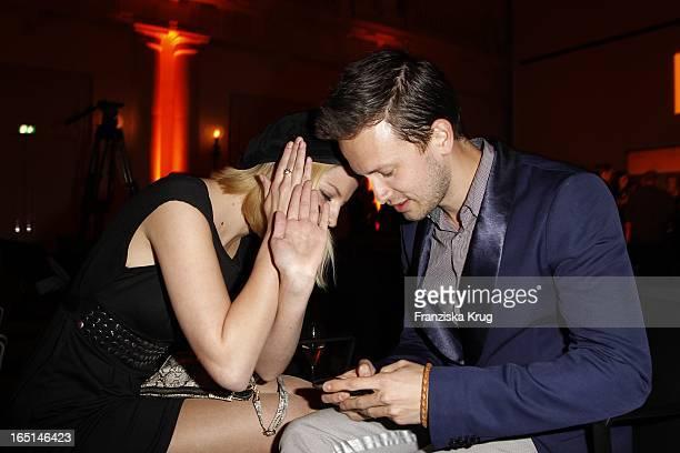 Prinzessin Xenia Von Sachsen Und Franz Dinda Beim 25 Prix Veuve Clicquot Im Hotel De Rome In Berlin