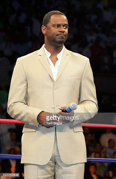 Prior to the start of the Antonio Tarver vs Bernard Hopkins IBO Light Heavyweight Title Fight recording artist Brian Mcknight sang the National...