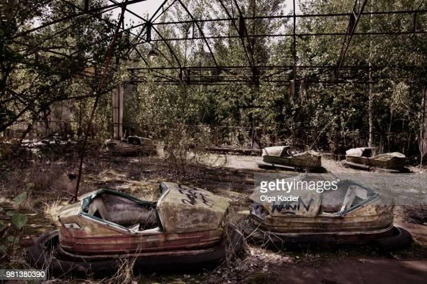 pripiat... dead town - acidente nuclear de chernobil imagens e fotografias de stock