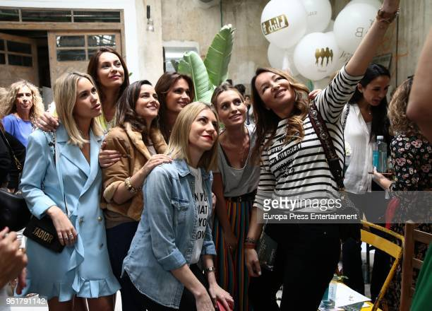 Priscila de Gustin Maria Palacios Mar Sauro Andrea Pascual and Ana Antic attend the Petite Fashion Week Spring/Summer fashion show 2018 on April 26...