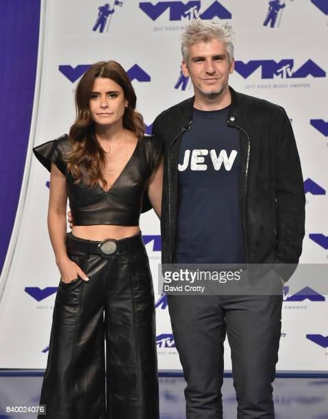 Priscila Joseph and Max Joseph attend the 2017 MTV Video Music Awards at The Forum on August 27 2017 in Inglewood California