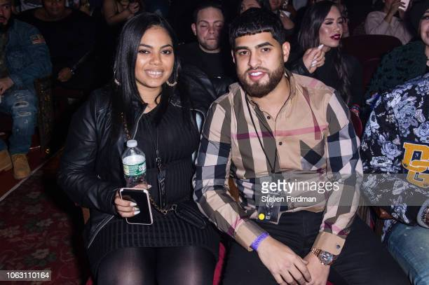 Priscilla Anuel and Fabian Anuel attend Anuel AA Karol G In Concert at United Palace Theater on November 17 2018 in New York City