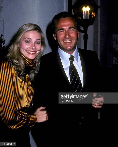 Priscilla Barnes and Joel Schur at the John Gavin's Party Chasen's Restaurant Beverly Hills