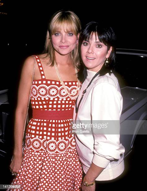 Priscilla Barnes and Joyce De Witt at the ABC Affiliates Party Century Plaza Hotel Los Angeles