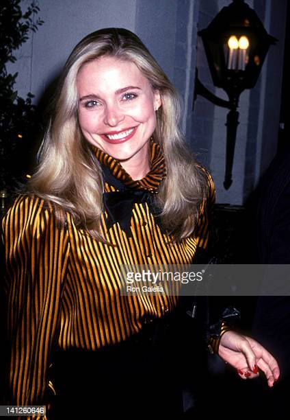 Priscilla Barnes at the John Gavin's Party Chasen's Restaurant Beverly Hills