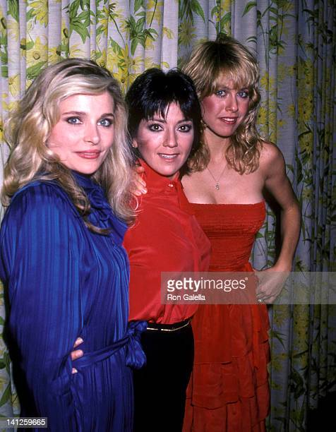 Priscilla Barnes, Joyce DeWitt, and Jenilee Harrison at the Three's Company Press Luncheon, Beverly Hills Hotel, Beverly Hills.