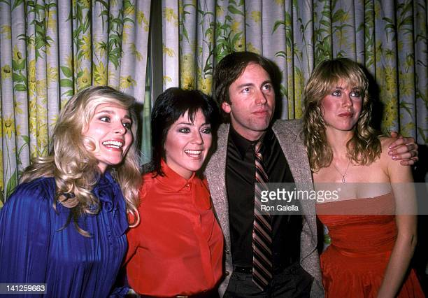 Priscilla Barnes Joyce DeWitt John Ritter and Jenilee Harrison at the Three's Company Press Luncheon Beverly Hills Hotel Beverly Hills