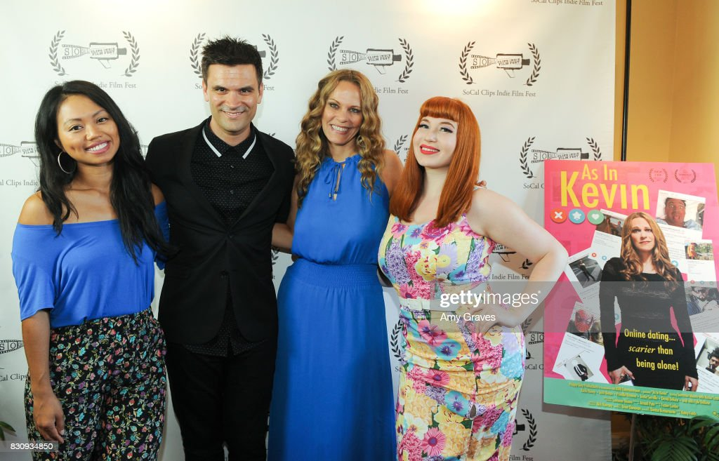 Priscilla Bawicia, Kash Hovey, Summer Moore and Kasia Szarek attend the Premiere Of 'As In Kevin' At Socal Clips Indie Film Fest on August 12, 2017 in Los Angeles, California.