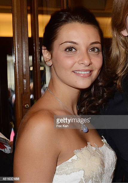 Priscilla Betti attends the '20th Amnesty International France' Gala At Theatre Des champs Elysees on July 2 2014 in Paris France