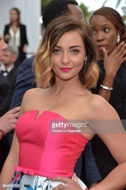 Priscilla Betti attends the Loveless screening during the 70th annual Cannes Film Festival at Palais des Festivals on May 18 2017 in Cannes France