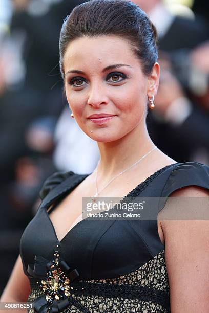 Priscilla Betti attends the Mr Turner premiere during the 67th Annual Cannes Film Festival on May 15 2014 in Cannes France