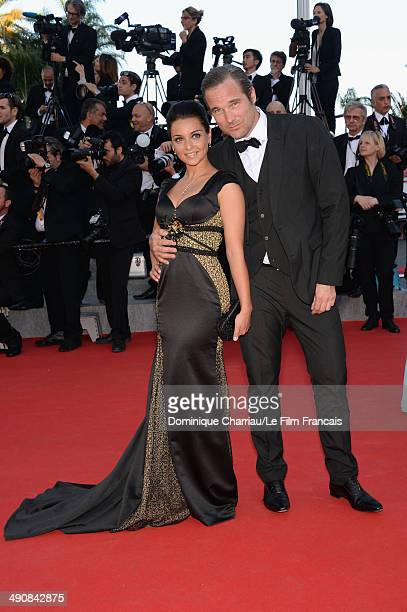 Priscilla Betti attends the 'MrTurner' Premiere at the 67th Annual Cannes Film Festival on May 15 2014 in Cannes France
