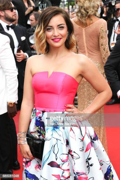 Priscilla Betti attends the Nelyobov screening during the 70th annual Cannes Film Festival at Palais des Festivals on May 18 2017 in Cannes France
