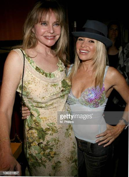 Priscilla Branes and EG Daily during Last Chance for Animals Fundraiser at Private in Beverly Hills CA United States