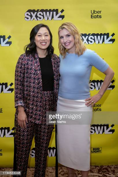 Priscilla Chan and Poppy Harlow attend Featured Session Priscilla Chan during the 2019 SXSW Conference and Festivals at Hilton Austin on March 8 2019...