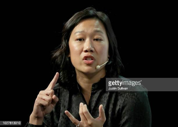 Priscilla Chan cofounder of the Chan Zuckerberg Initiative LLC speaks during the TechCrunch Disrupt SF 2018 on September 6 2018 in San Francisco...
