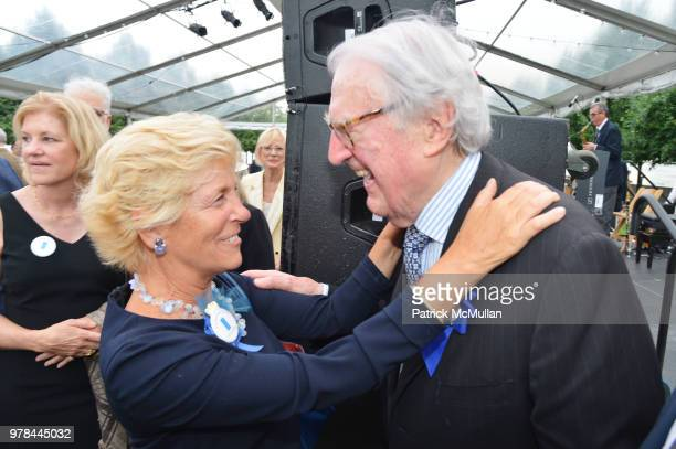 Priscilla McCord and William vanden Heuvel attend the Franklin D Roosevelt Four Freedoms Park's gala honoring Founder Ambassador William J Vanden...