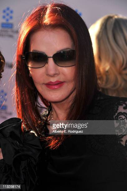 Priscilla Presley arrives at TCM Classic Film Festival Opening Night Gala and World Premiere of An American In Paris at the Grauman's Chinese...