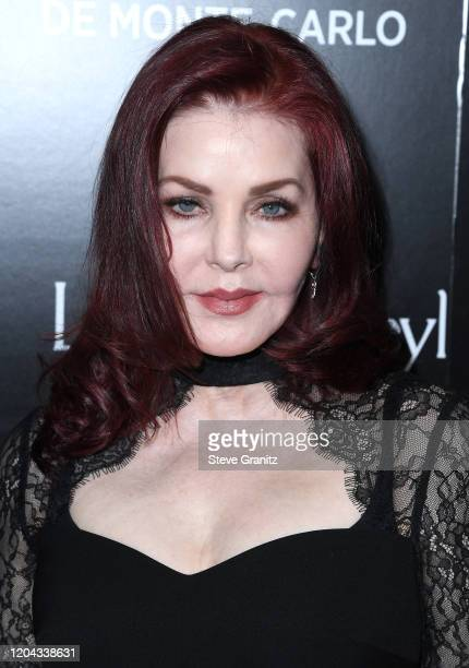 Priscilla Presley arrives at the HSH Prince Albert II Of Monaco Hosts 60th Anniversary Party For The Monte-Carlo TV Festival at Sunset Tower Hotel on...