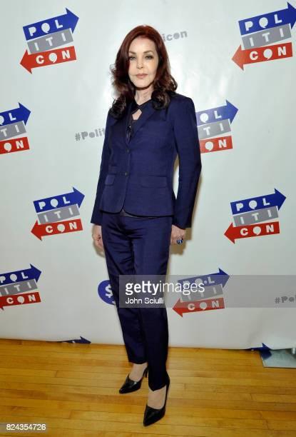 Priscilla Presley at Politicon at Pasadena Convention Center on July 29 2017 in Pasadena California