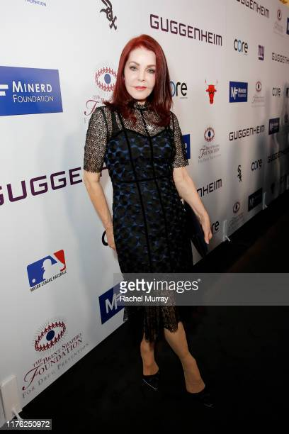 Priscilla Presley attends Brent Shapiro Foundation Summer Spectacular 2019 at The Beverly Hilton Hotel on September 21, 2019 in Beverly Hills,...