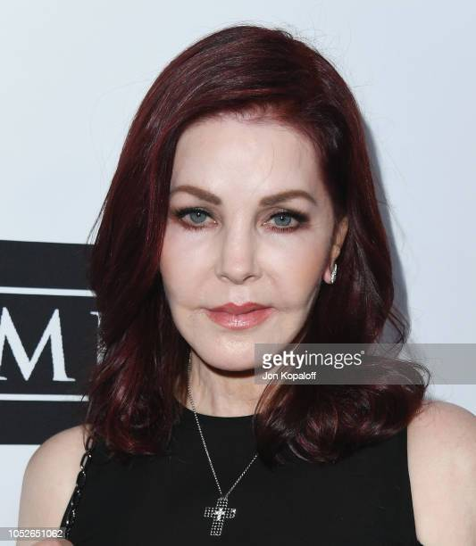 Priscilla Presley attends Last Chance For Animals' Hosts Annual Celebrity Benefit at The Beverly Hilton Hotel on October 20 2018 in Beverly Hills...