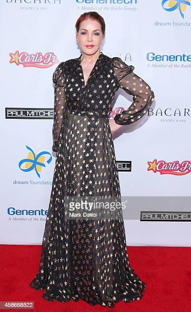 Priscilla Presley attends the Dream Foundation's 13th annual celebration of dreams gala held at the Bacara Resort and Spa on November 8 2014 in Santa...