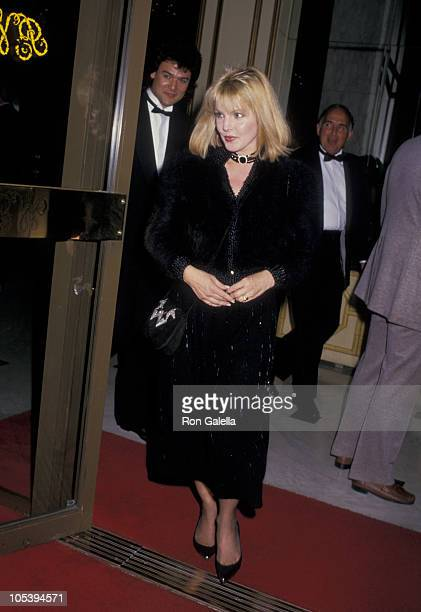 Priscilla Presley during American Jewish Commitee Honors Merv Adelson at Beverly Wilshire Hotel in Beverly Hills California United States