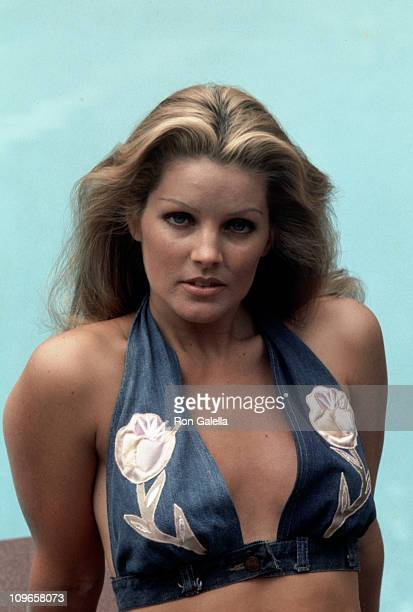 Priscilla Presley during Exclusive Photo Shoot of Priscilla Presley at her Beverly Hills Home - April 9, 1975 at Priscilla Presley's Beverly Hills...