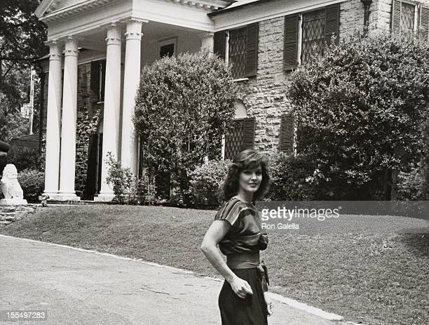 Priscilla Presley during Graceland File Photos May 4 1982 at Graceland in Memphis Tennessee United States