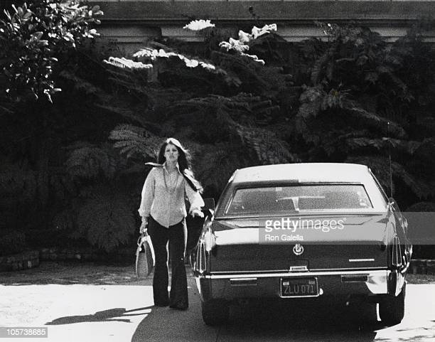 Priscilla Presley during Priscilla Presley Sighted in Beverly Hills at Beverly Hills in Beverly Hills California United States