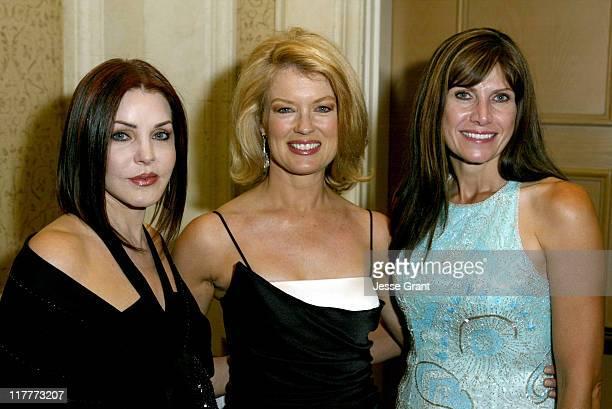 Priscilla Presley, Mary Hart and Congresswoman Mary Bono