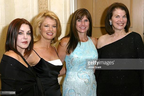 Priscilla Presley, Mary Hart, Congresswoman Mary Bono and Sherry Lansing