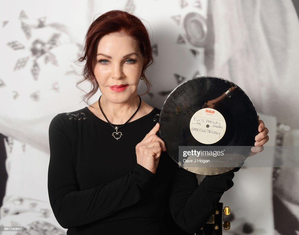 Priscilla Presley At The Elvis On Tour Exhibition At O2 : ニュース写真