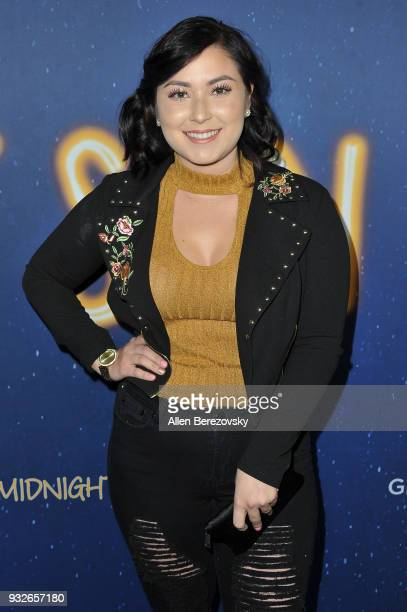 Priscilla Quinones attends the Global Road Entertainment's World Premiere of Midnight Sun at ArcLight Hollywood on March 15 2018 in Hollywood...