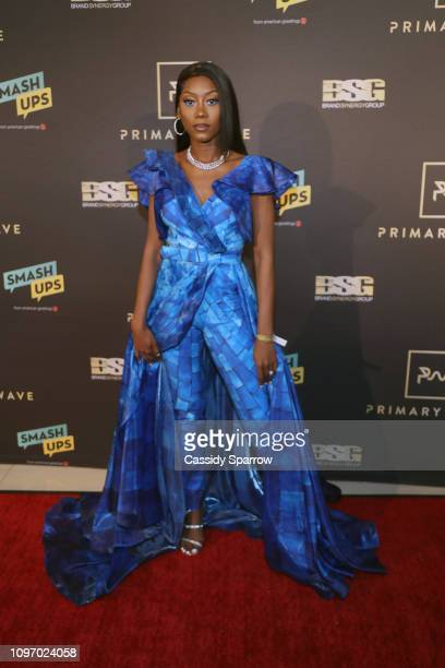 Priscilla Renea attends Primary Wave 13th Annual PreGRAMMY Bash at The London West Hollywood on February 9 2019 in West Hollywood California