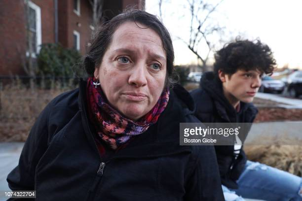 Priscilla Rodas is pictured with her 15yearold son Enrique Rodas right in Brookline MA on Dec 10 2018 Rodas believed the worst was behind her after...