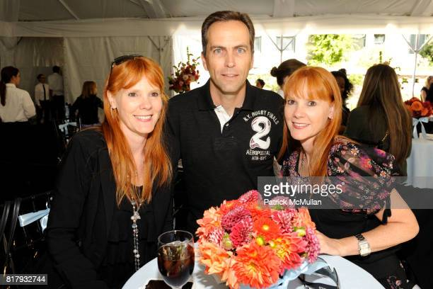 Priscilla Schott Roberto Marques and Paula Marques attend Cynthia Rowley Summer/Spring 2011 Reception With Johnson Johnson at Cooper Hewitt Museum on...