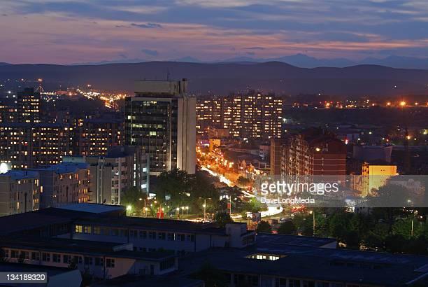 Prishtina at Night