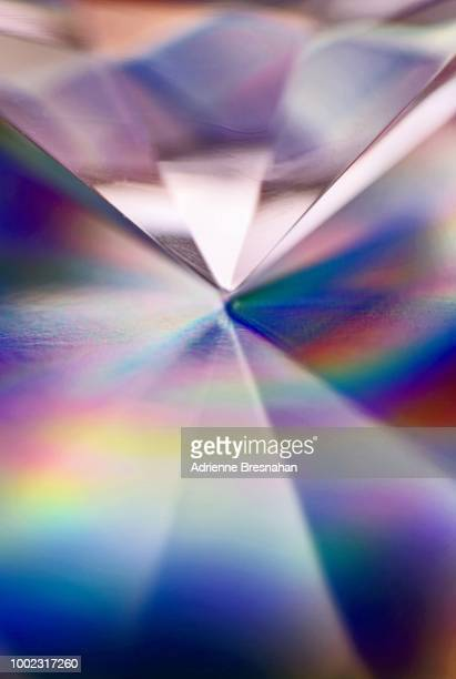 prism point - diamond gemstone stock pictures, royalty-free photos & images